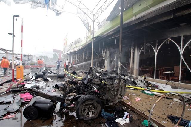 Coche bomba de BRN en Tailandia