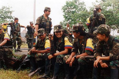 FARC y sus mujeres. (Silvia Andrea Moreno)