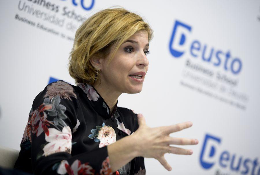 Hana Jalloul, profesora de la Universidad Carlos III y de la Universidad de Nebrija.