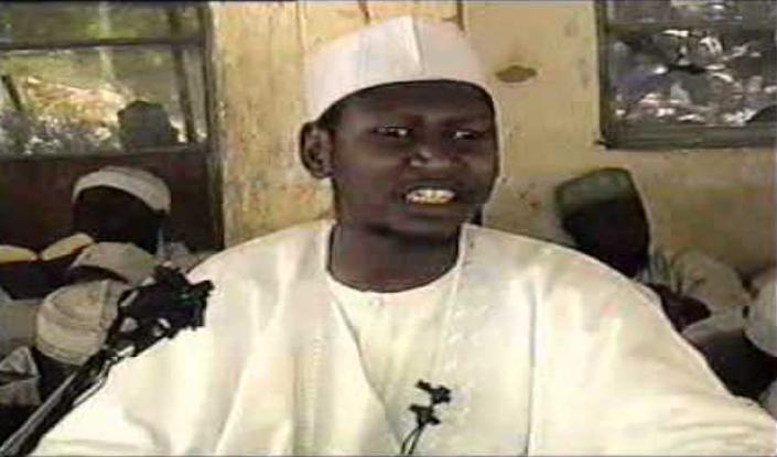 Figura 3. Captura de vídeo de Muhammad Yussuf durante una de sus intervenciones.