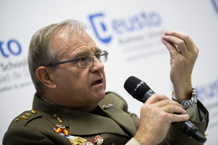 El general Miguel Ángel Ballesteros, director del Instituto Español de Estudios Estratégicos.