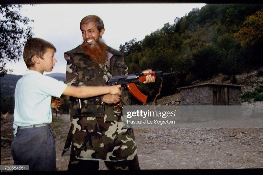 Fotografía de Abu Abdel Aziz, Barbaròs, Fotografía: Pascal Le Segretain/Sygma y Getty Images