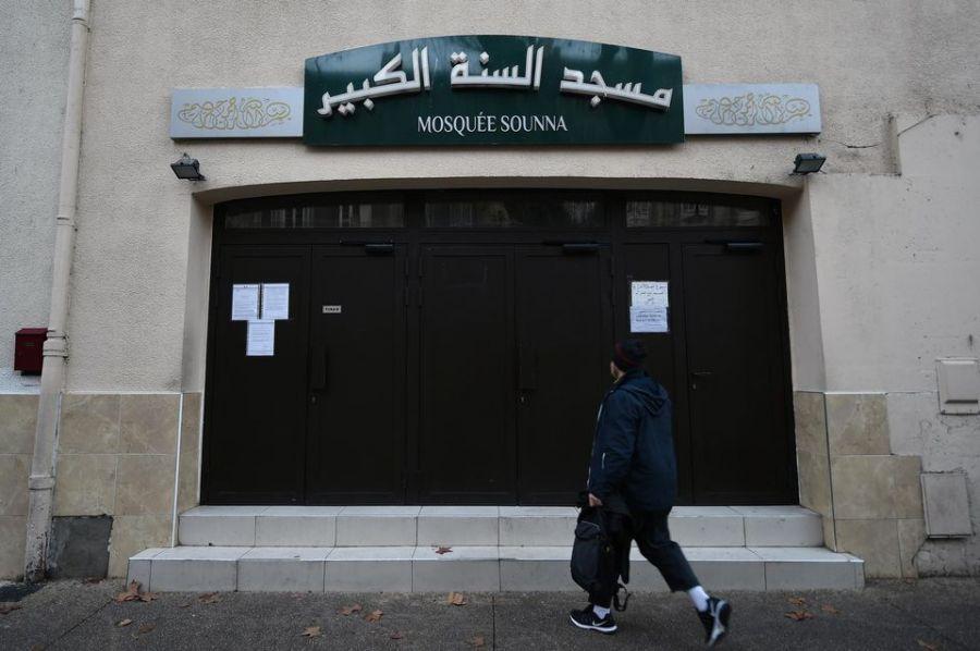 magen 3: Mezquita cerrada por las autoridades en la ciudad de Marsella. Fuente: Boris Horvat.