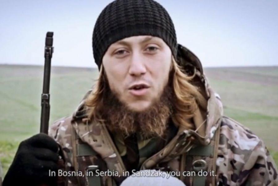 Fotograma del video realizado por la productora de Daesh Al Hayat Media. Fuente: The Guardian