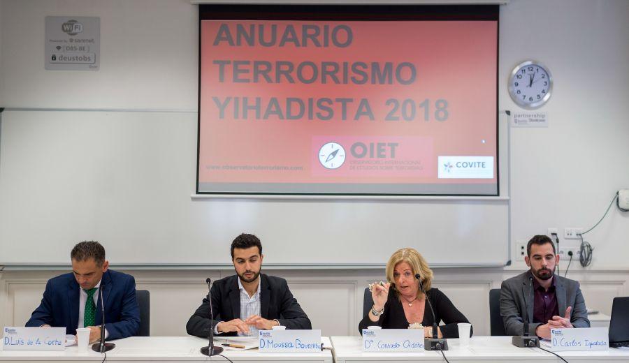 Presentación Anuario Terrorismo Yihadista