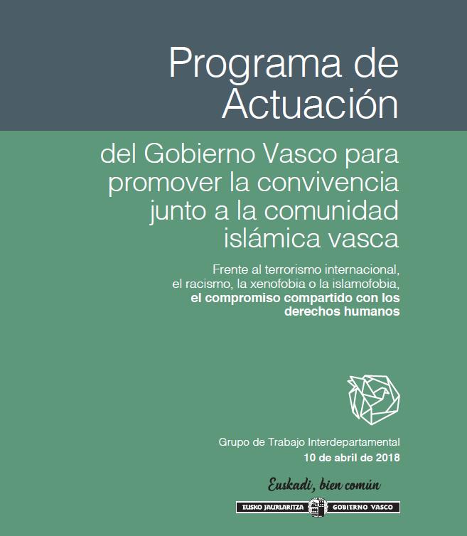 Promover la convivencia junto a la comunidad islamica vasca