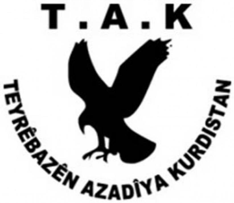 Logo de los TAK. Fuente http://www.etraf.com.tr/gundem/ankara-saldirisini-tak-orgutu-ustlendi-h45803.html