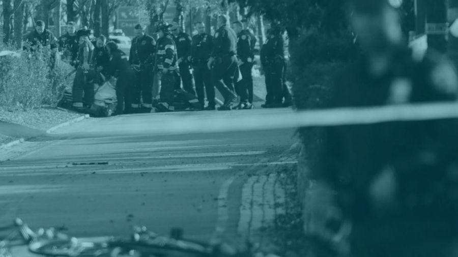 Atentado terrorista en el carril bici de Nueva York. EFE