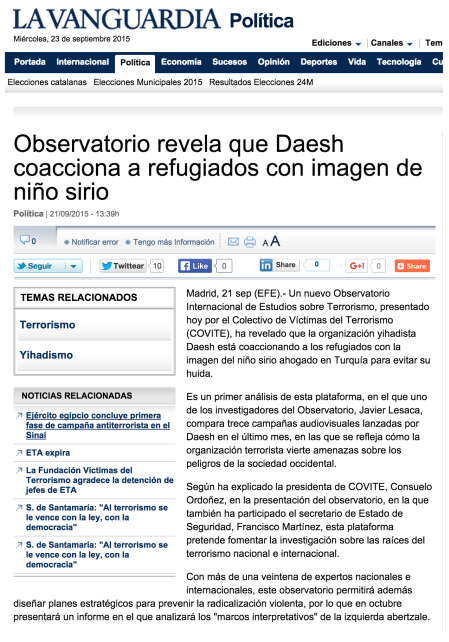 daesh refugiados lavanguardia