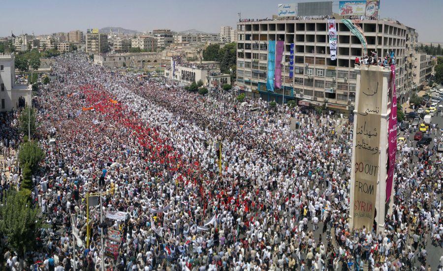 primavera arabe siria
