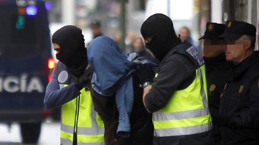 radicalizados detenidos